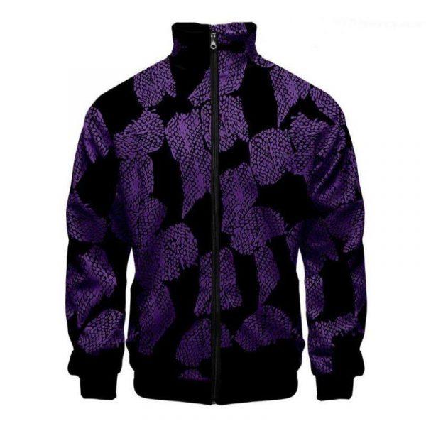 Demon Slayer Jacket </br> Kokushibou Pattern