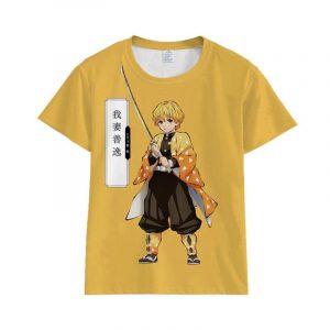Shirt Zenitsu Agatsuma