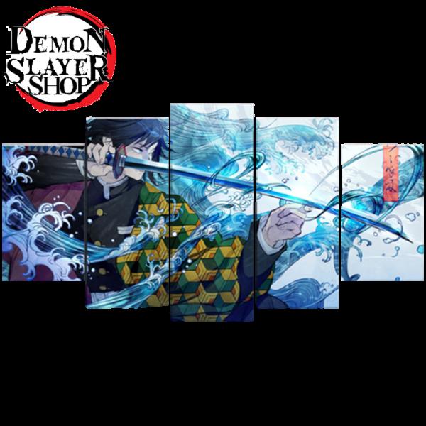 Demon Slayer Canvas </br> Giyu Tomioka