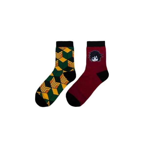 Demon Slayer Socks </br> Giyu Tomioka