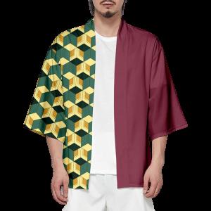 Demon Slayer Kimono Himejima Gyomei Pattern