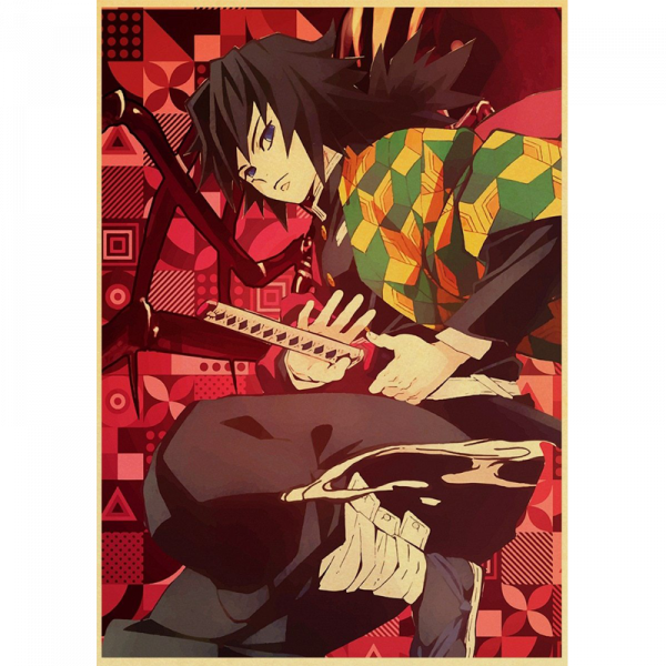 Demon Slayer Poster Giyu