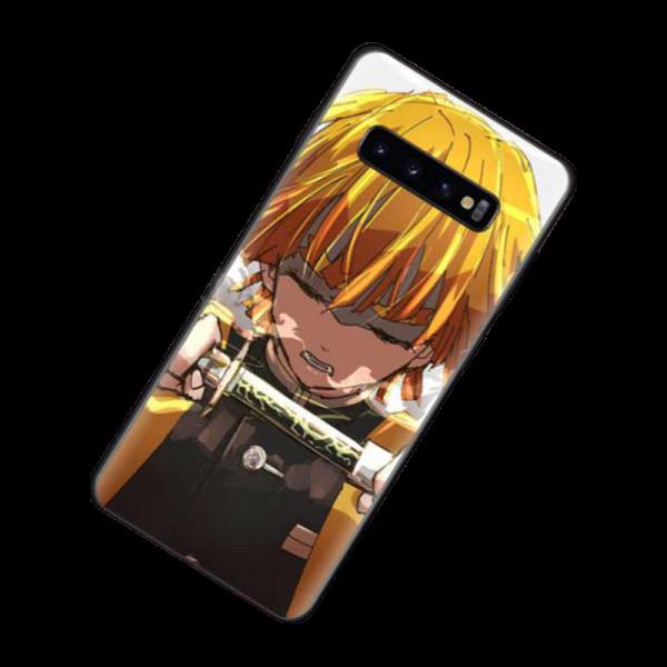 Demon Slayer Phone Case Samsung </br> Zenitsu Concentration Breathing