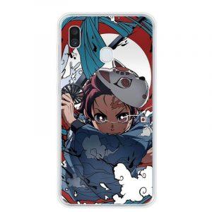 Demon Slayer Phone Case Samsung </br> Tanjiro Water Surface Slash