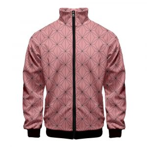Demon Slayer Jacket  Nezuko Pattern