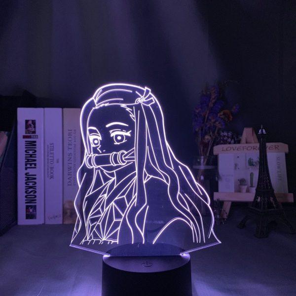 Demon Slayer Lamp Nezuko Side Face