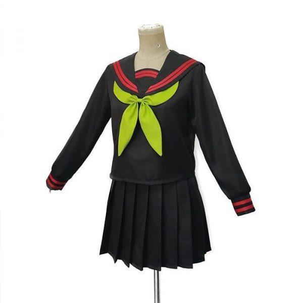 Demon Slayer Cosplay Nezuko School Uniform