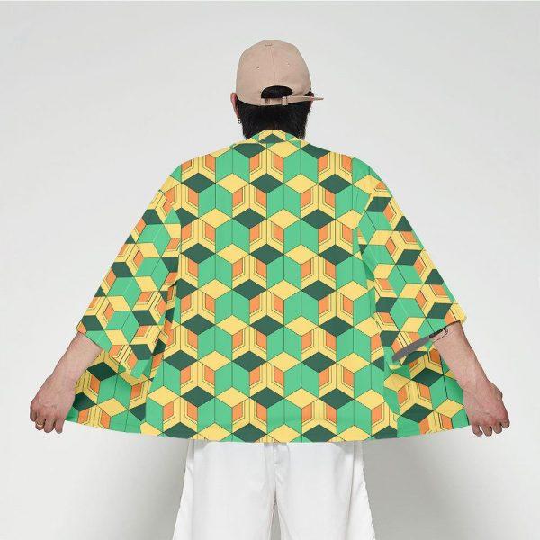 Demon Slayer Kimono Sabito Pattern