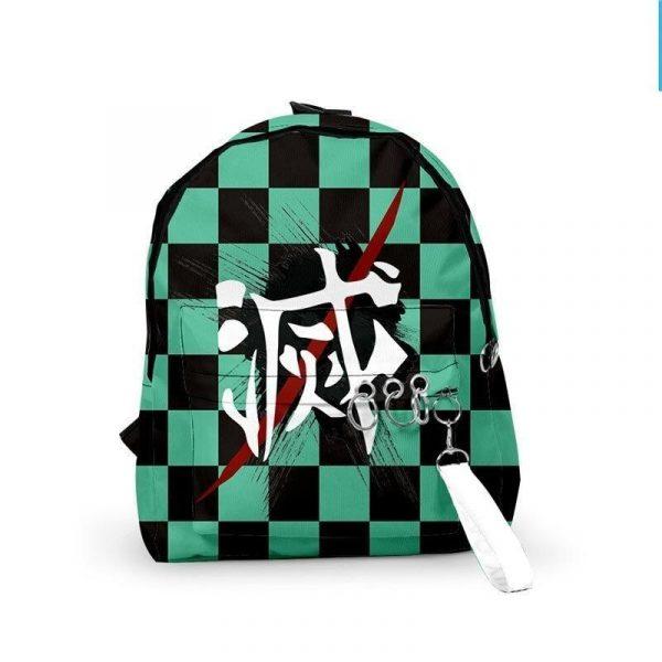 Demon Slayer Backpack Tanjiro Kamado Pattern