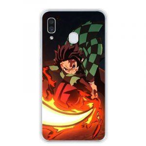 Demon Slayer Phone Case Samsung Tanjiro
