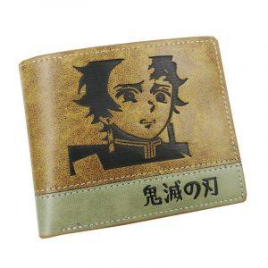 Demon Slayer Wallet  Tanjiro Weird Face
