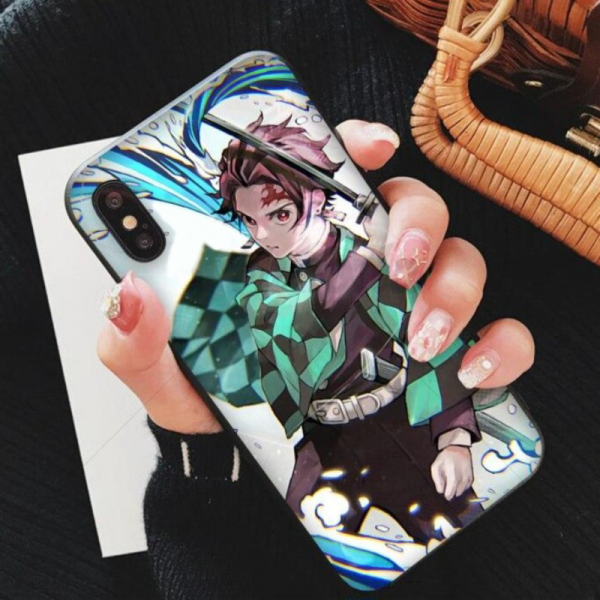Demon Slayer iPhone Case </br> Tanjiro Water Breathing