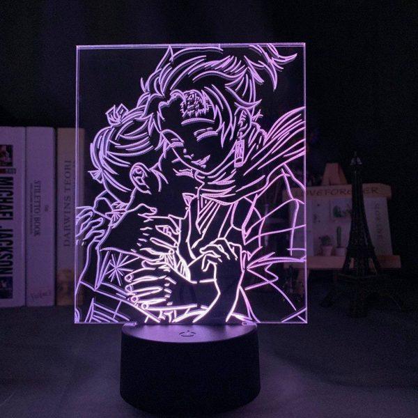 Demon Slayer Lamp Young Tanjiro & Nezuko
