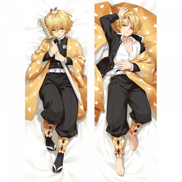 Demon Slayer Body Pillow </br> Zenitsu Agatsuma