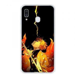 Demon Slayer Phone Case Samsung </br> Zenitsu Focus