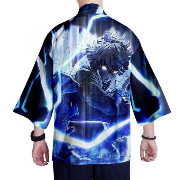 Demon Slayer Kimono Zenitsu Agatsuma