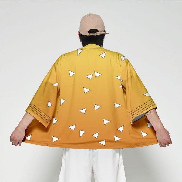 Demon Slayer Kimono Zenitsu Pattern