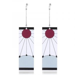Tanjiro Earrings Demon Slayer Tanjirou Kamado