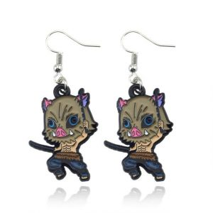 Demon Slayer Earrings   Inosuke Hashibira Trinket