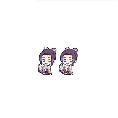 Demon Slayer Shinobu Kochou Earrings